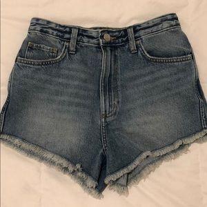 Lee denim shorts